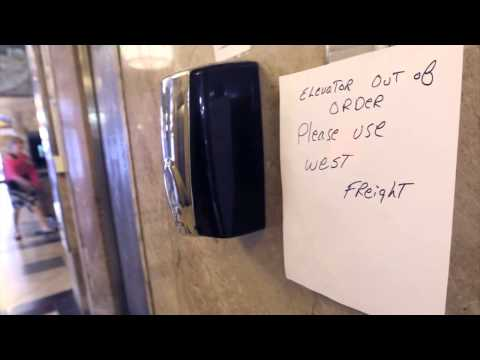 First National Center elevator woes
