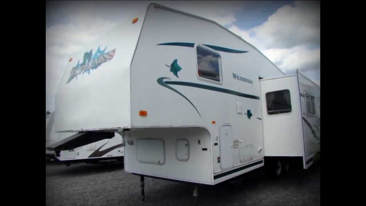 Used 2001 Fleetwood Wilderness Gl 275j Fifth Wheel Rv
