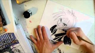 drawing Rurouni Kenshin speed paint