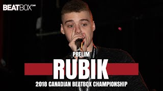 Rubik | 2018 Canadian Champs | Solo - Prelim