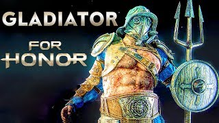 FOR HONOR Gladiator Gameplay Season 3 [1080p HD 60FPS PC MAX SETTINGS] NEW MAPS - No Commentary