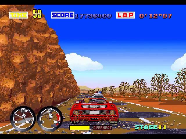 Arcade Longplay [250] Turbo Out Run