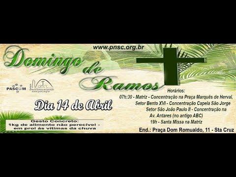 Missa Domingo de Ramos 14/04/2019