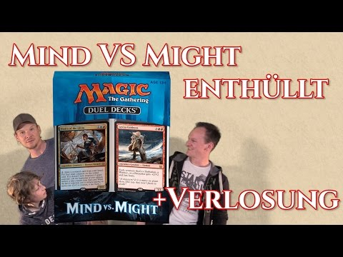 DUEL DECKS Mind VS Might enthüllt deutsch traderonlinevideo review trader preview unboxing