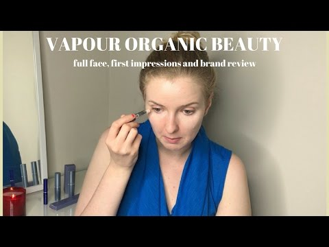 VAPOUR ORGANIC BEAUTY (full face, review, first impressions)