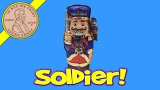 Ghirardelli Nutcracker Soldier Hollow Chocolate Figure - Let