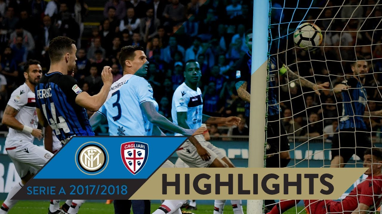 Inter Cagliari 4 0 Highlights Matchday 33 Serie A