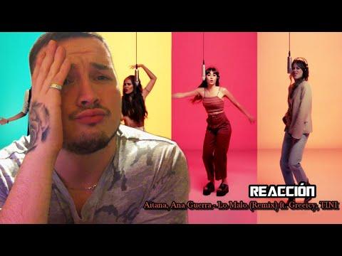 (REACCIÓN) Aitana, Ana Guerra - Lo Malo (Remix) ft. Greeicy, TINI | Cris Alejandro