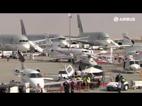 Dubai Airshow 2015 Day 1 seen by Airbus