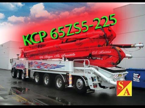 Автобетононасос KCP 65ZS5 225