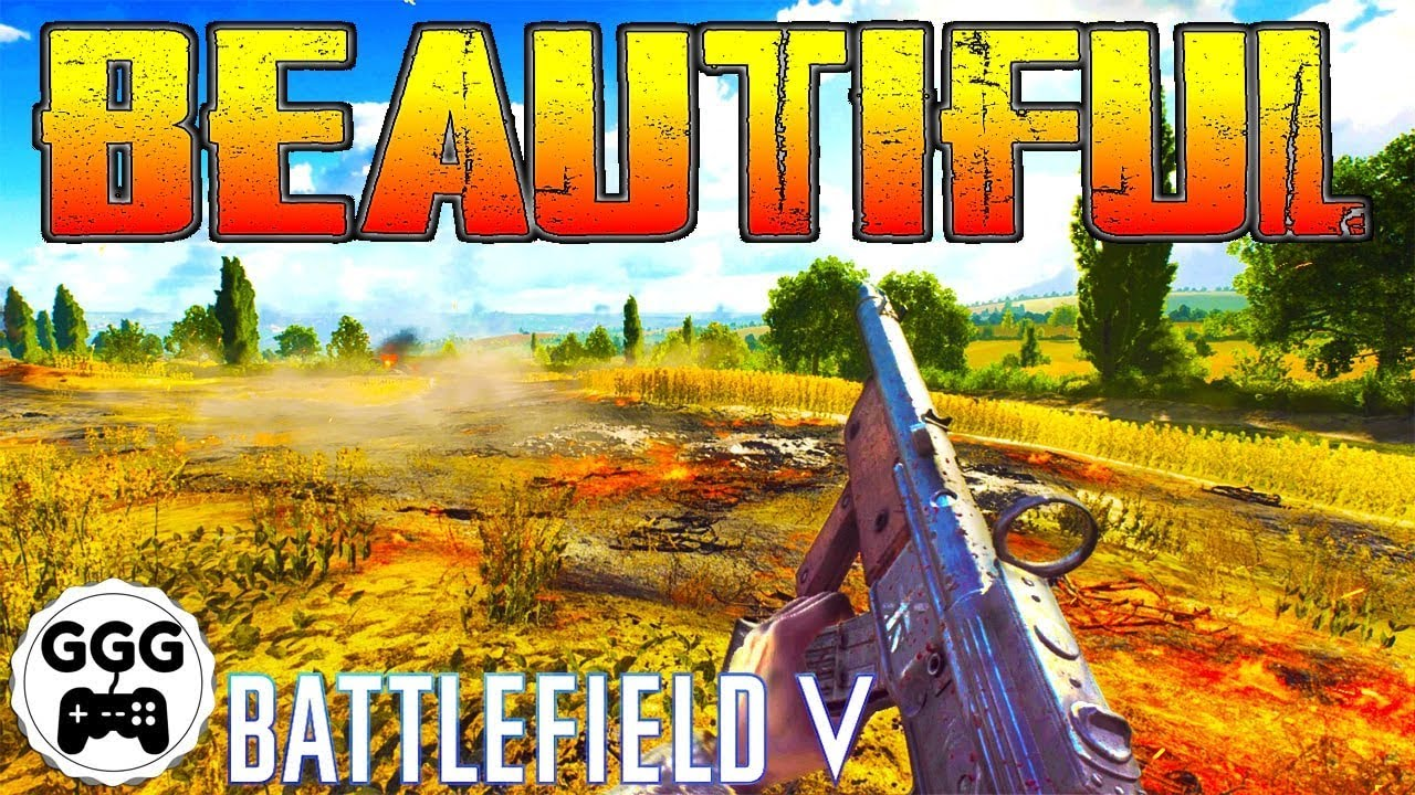 Battlefield 5 Is Beautiful In Realism Mode No Hud Challenge