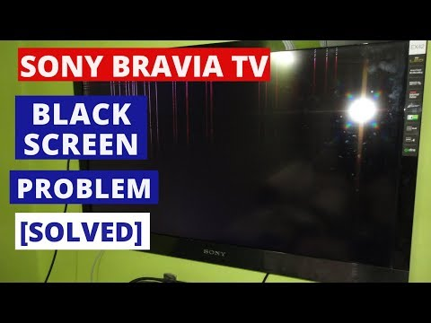 How to Fix SONY TV Black Screen Problems || How to Fix SONY TV Black Screen of Death