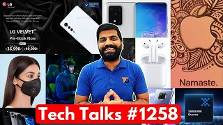 Tech Talks #1258 - Free AirPods, Redmi Note 10 Launch, New Nord Phone, Xiaomi Mask, S21 Cameras