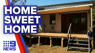 First Long-term Tiny House Residency Approved | Nine News Australia