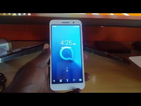 Alcatel 1 unboxing and review
