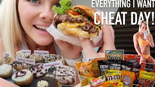 8,500+ CALORIE CHEAT DAY! | I Ate Everything I Wanted!
