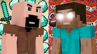 Why Notch and Herobrine Hate Each Other - Minecraft