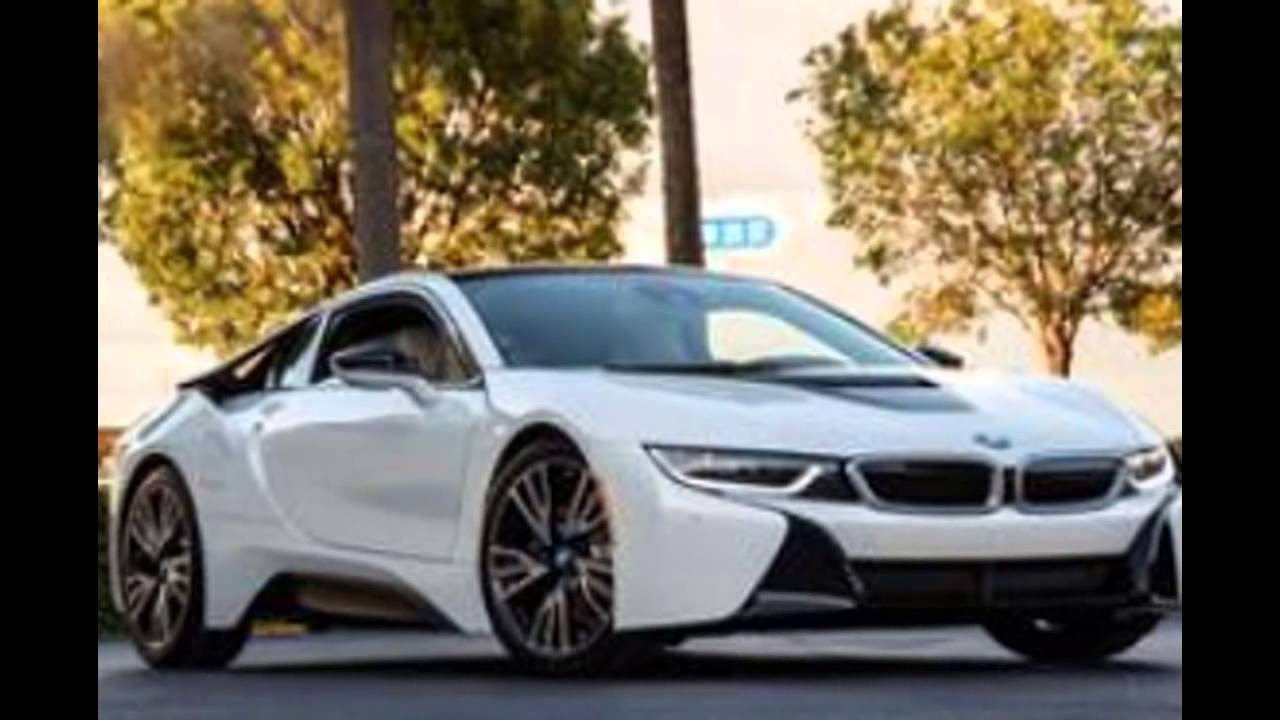2016 Bmw I8 Crystal White Pearl Metallic With Frozen Grey Accent