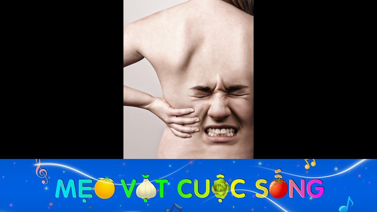 Mẹo trị đau lưng cực hiệu quả