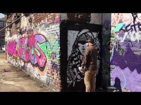 Mila K - Sheffield Street Artist
