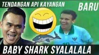 Gambar cover Komentator Lucu Valentino Simanjuntak (Baby Shark Syalalala)