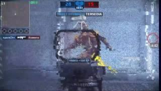 Mc5| WAR ZONE VS |HM| (facha,marmota,Nemo,)