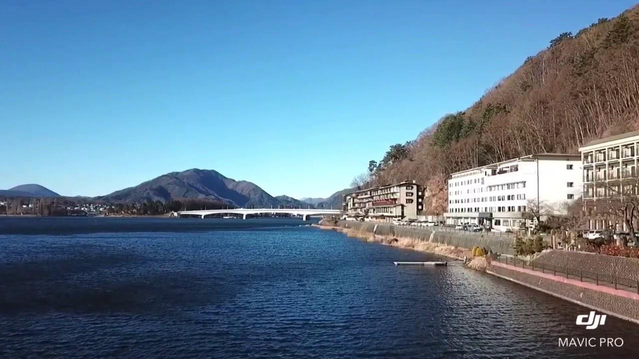 20180102日本富士山河口湖新世紀飯店/溫泉鄉無人飛機空拍。 - YouTube