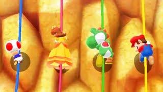 Mario Party Island Tour - Toad Vs Mario Yoshi Daisy All Battles Minigame (Master Cpu)