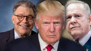 Trump Quick To Blast Sen. Al Franken For Sexual Misconduct, Silent About Roy Moore Accusations