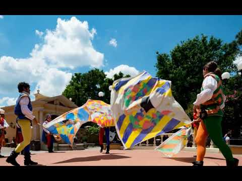 Tutto Italia Italy Pavilion at Epcot in Only 3 minutes