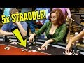 Quintuple Straddles And 7-Way Flips! INSANE Poker Game
