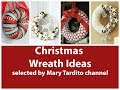 Christmas Wreath Ideas - Winter Decorating Ideas