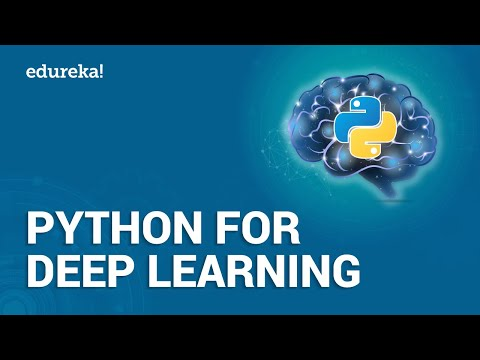 Python For Deep Learning - I   Python Basics   Python Tutorial   Python Training   Edureka Live