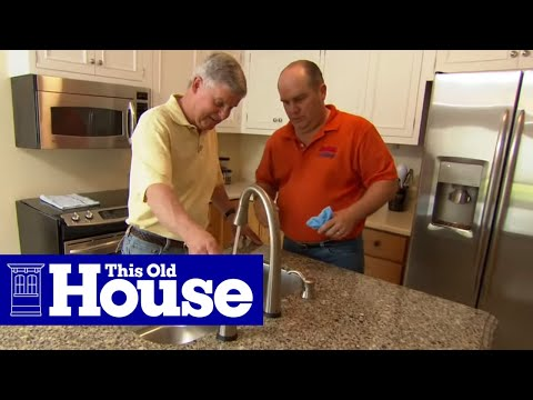How To Install The Plumbing For A Kitchen Sink This Old