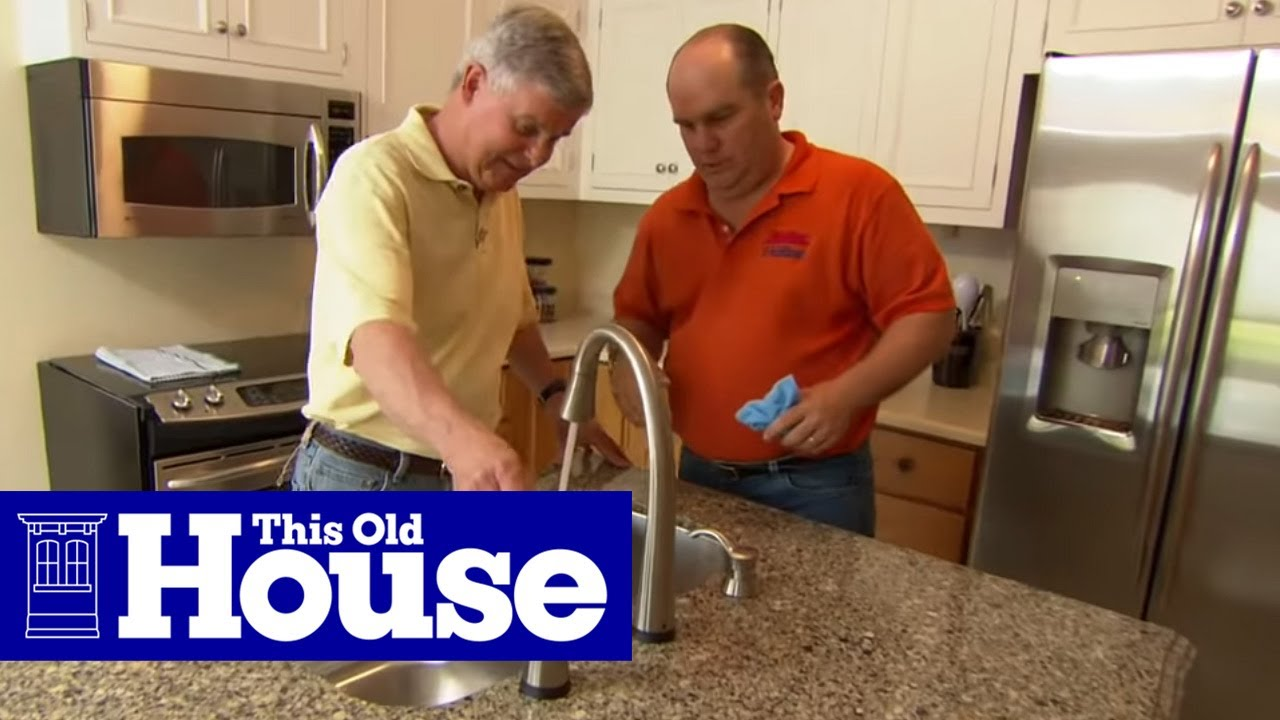 Kitchen P Through | How To Install The Plumbing For A Kitchen Sink This Old House