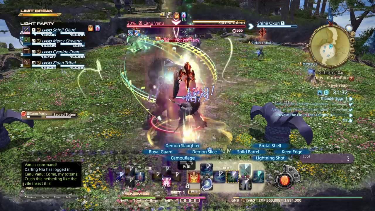 Final Fantasy XIV - Neverreap Synced World Record: 13:03
