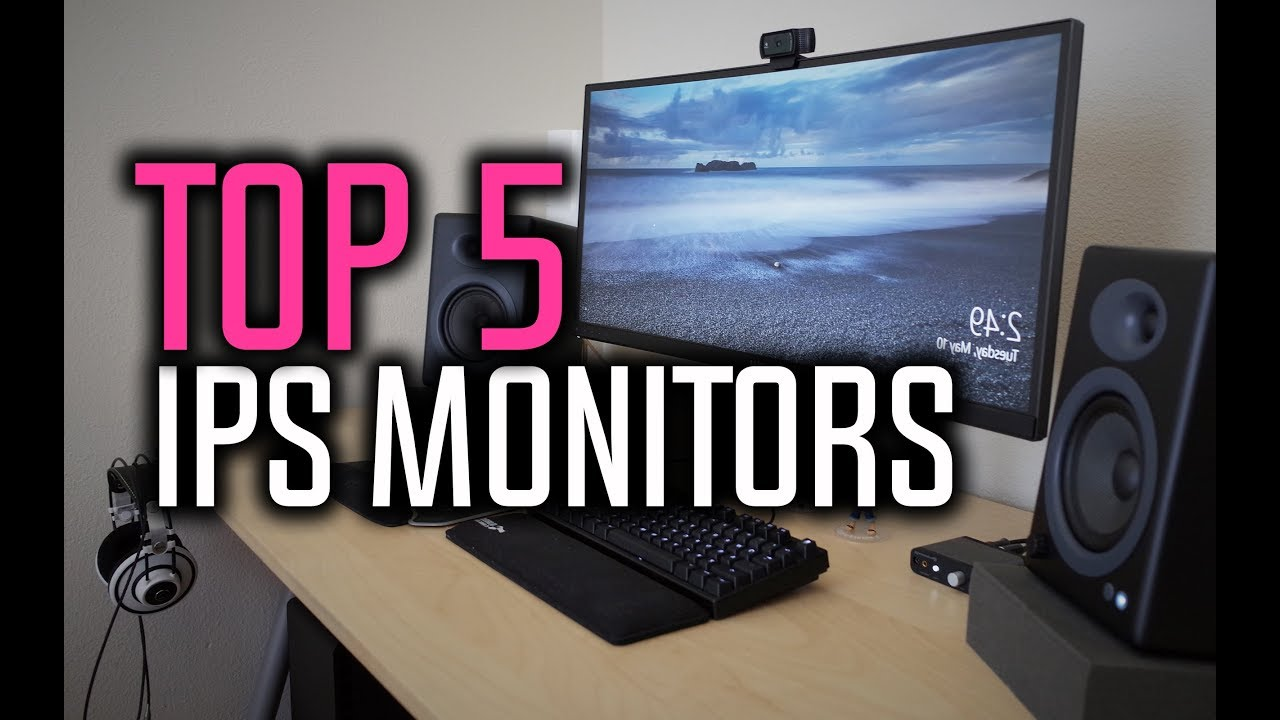 Best IPS Monitors - Best Monitors For Gaming & Graphic Design