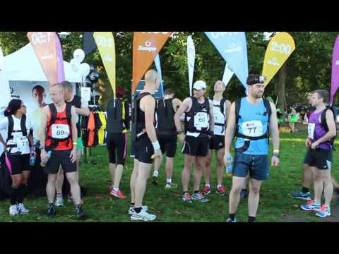 Royal Parks Half Marathon 2013 video