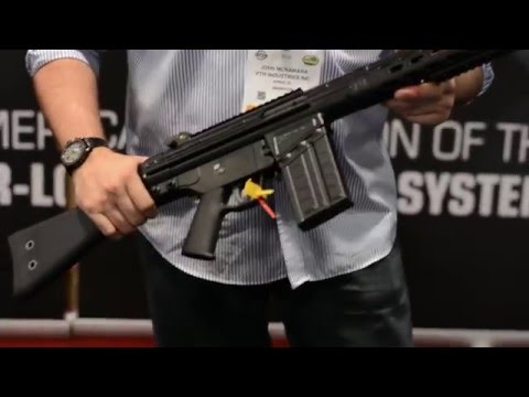 SHOT Show 2016: PTR Industries PTR 91 FR