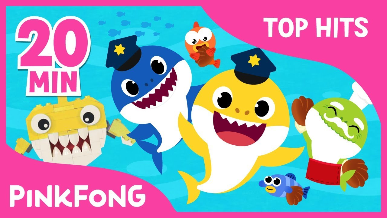 Best Kids' Songs of November | +Compilation | Lego Baby Shark and More | Pinkfong Songs for Chi