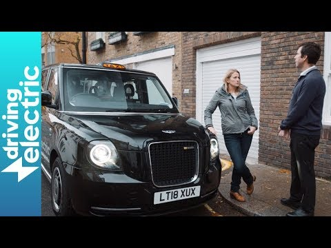 London's electric black cab driven - DrivingElectric