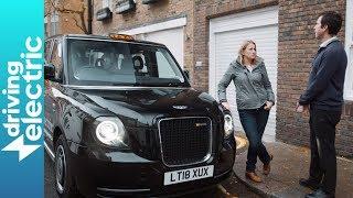 London's electric black cab driven - DrivingElectric