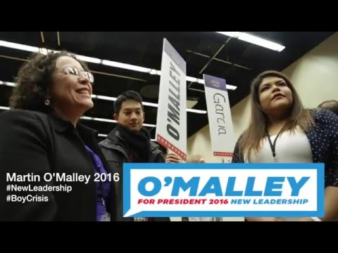 "Martin O'malley ""Campaign Representatives Interview"""