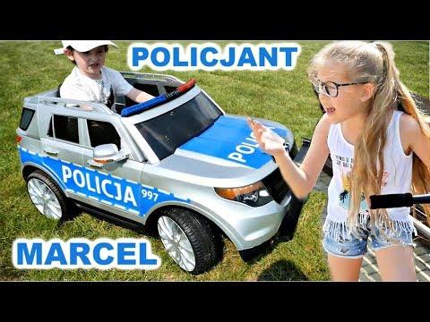 MARCEL POLICJANT - HEJKA TU LENKA IDZIE DO WIĘZIENIA - Autko Na Akumulator