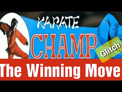 Arcade1up Karate Champ Winning Glitch Move from Jester Tester