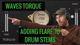 Waves Torque on Drum Stems - Still Creative!