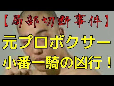 【局部切断事件】小番一騎(こつがい いっき)の凶行!実刑判決へ!