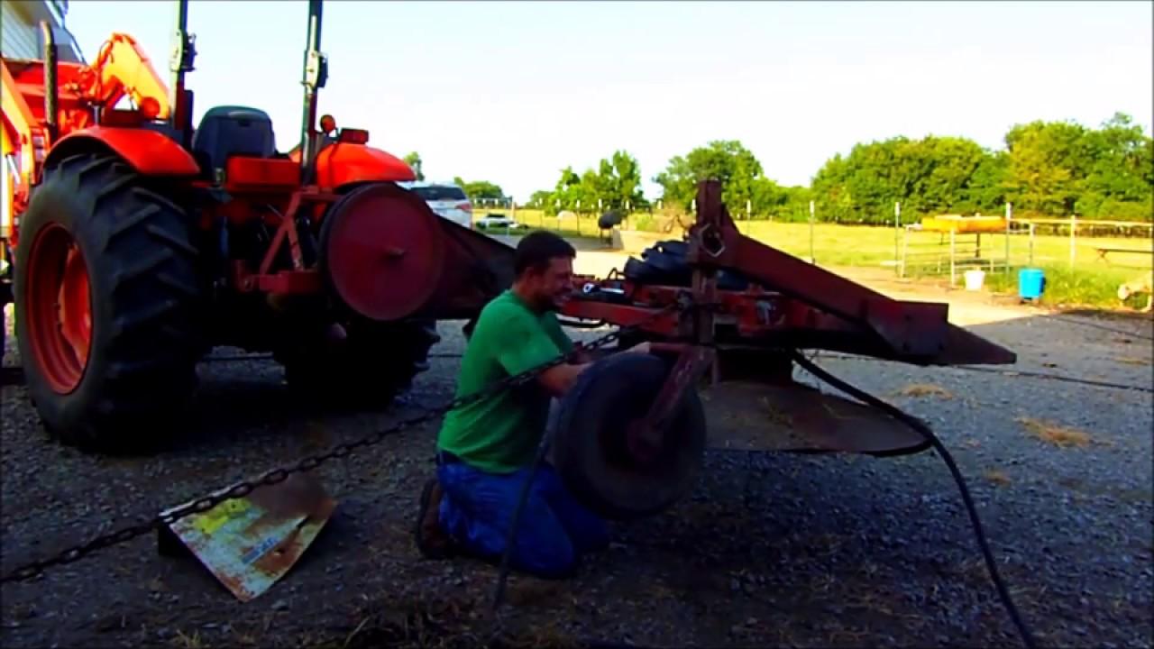 Reese mower repair part 1