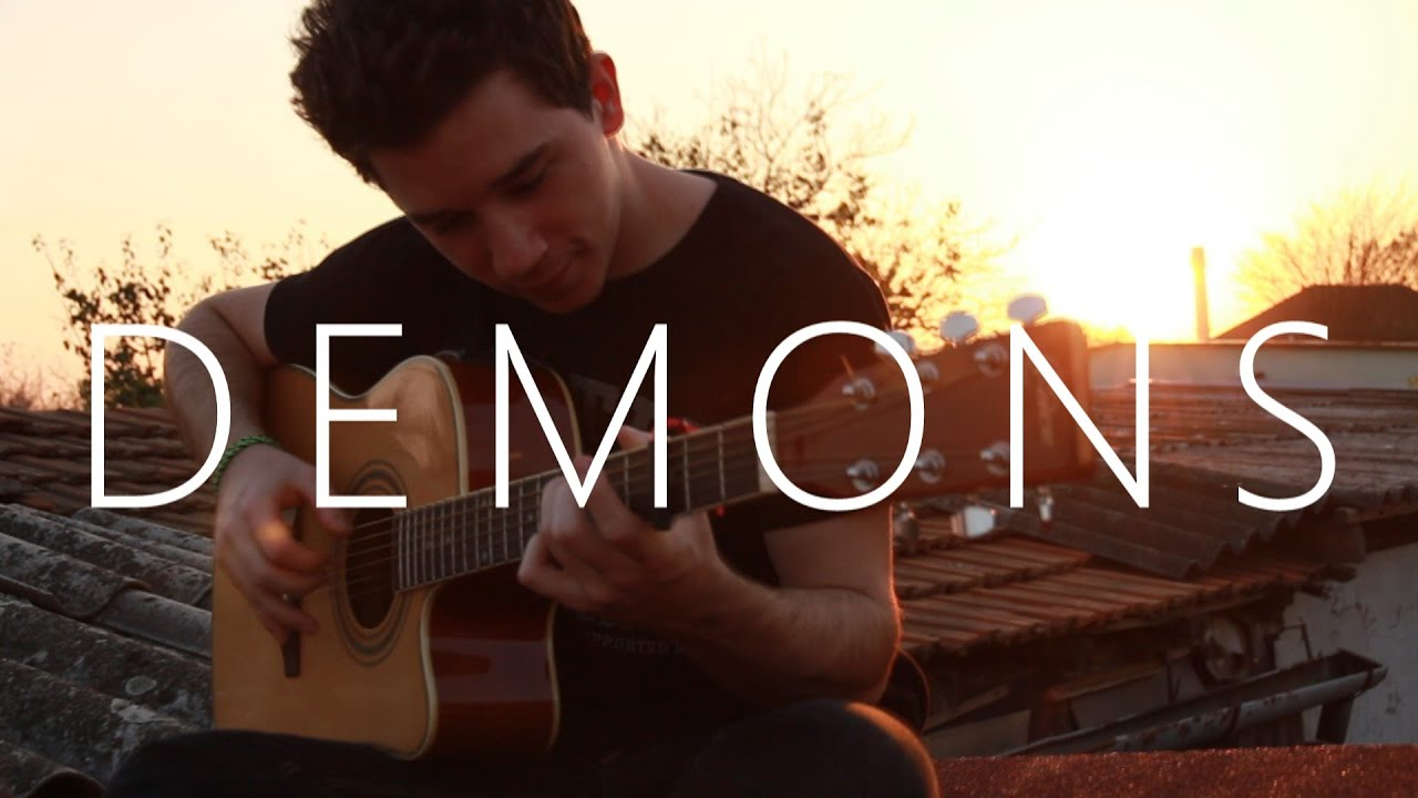 Imagine Dragons Demons Fingerstyle Guitar Cover By Peter Gergely