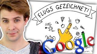 Google errät meine Zeichnungen! 😱 - ZeoZockt Google Quick Draw!